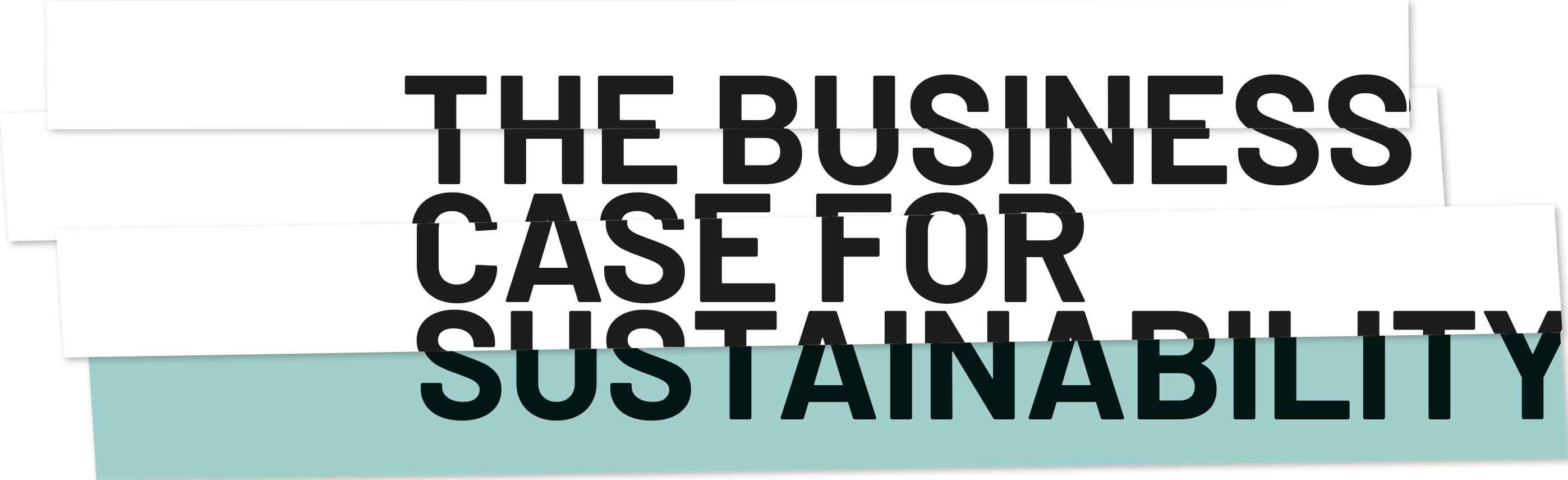 The business case for sustainability.